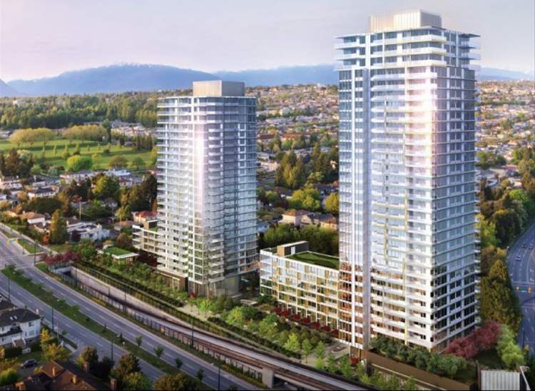cambie star & delta rise buildings itc construction project extreme powerwash