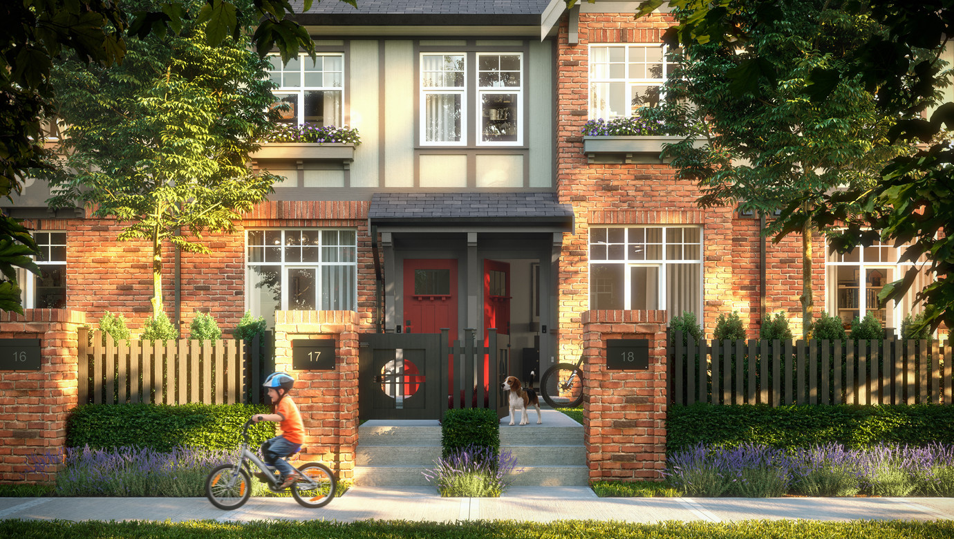 victorio townhouses mosaic homes project extreme powerwash